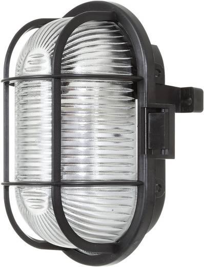 Vízhatlan lámpatest, ovális, E27, max. 60 W, 230 V, IP44, fekete, 52-1005-001