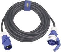 Erősáramú hálózati hosszabbítókábel védőkupakkal, fekete, 10 m, H07RN-F 3G 2,5 mm² , SIROX 361.410 (361.410) SIROX