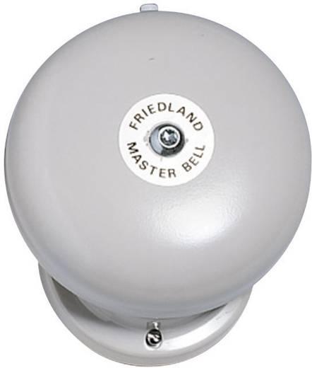 Vezetékes csengő, gong, 12V, max. 100 dBA, szürke, Friedland 581069