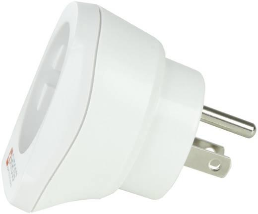 USA-magyar konnektor átalakító adapter (USA-ba), fehér, Skross 1.500203