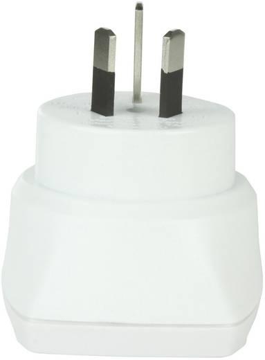 Ausztrál-magyar konnektor átalakító adapter (Ausztráliába), fehér, Skross 1.500209