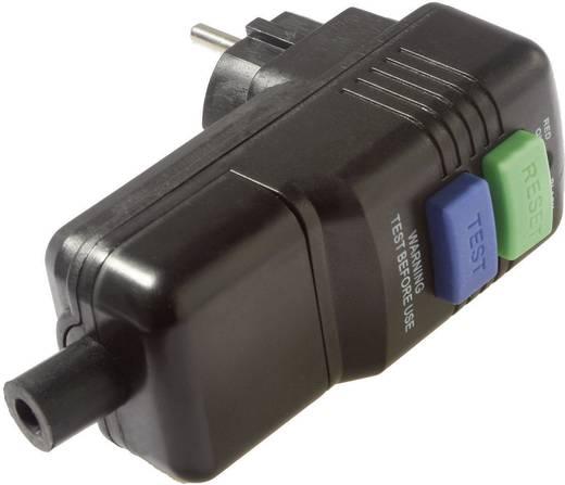 Személyvédős dugó, fekete, IP44, AS Schwabe 45209