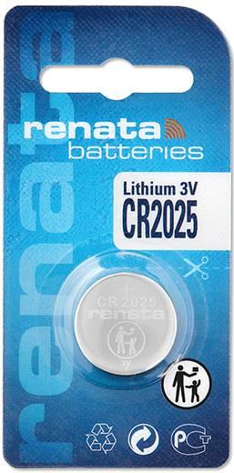 CR2025 lítium gombelem, 3 V, 165 mAh, Renata BR2025, DL2025, ECR2025, KCR2025, KL2025, KECR2025, LM2025