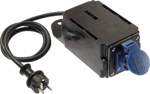 Bekapcsolási áram korlátozó, 230V, IP44, fekete, H07RN-F 3G1,5, AS Schwabe