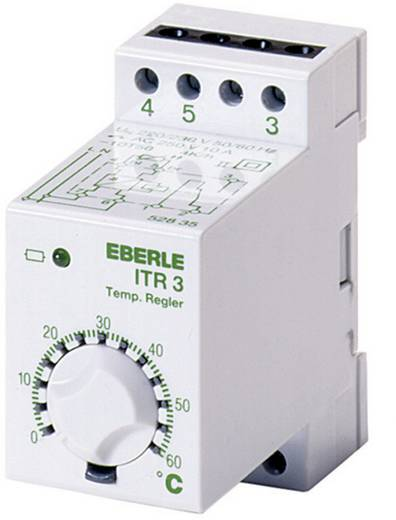 Univerzális hőmérsékletszabályzó -40 - +20 °C Eberle ITR-3 528 000 0528 35 143 000