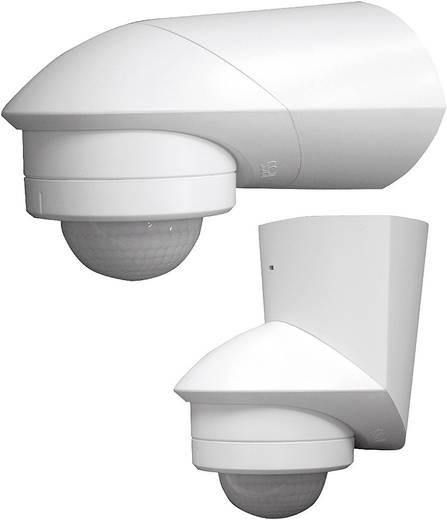 Fali/mennyezeti mozgásérzékelő, fehér, 360°, IP55, relés, Grothe 94532