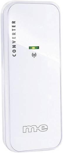 Vezeték nélküli/vezetékes csengő átalakító, 100 m, 434 MHz, fehér, m-e GmbH modern-electronics Bell 212 TX