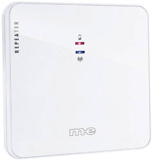 Rádiójel erősítő vezeték nélküli csengőhöz, 100 m, 434 MHz, IP44, fehér, m-e GmbH modern-electronics Bell 214 RT