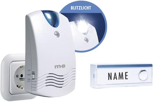 Vezeték nélküli csengő készlet névtáblával, m-e modern-electronics FG-1.1