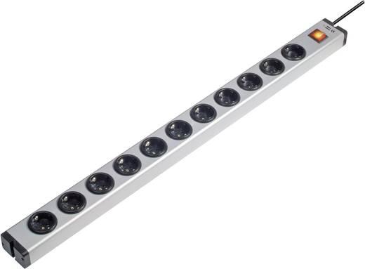 Kapcsolós hálózati elosztó, 11 részes, alu, Ehmann 0601x00112031