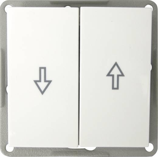 Keret nélküli redőnykapcsoló, fehér színű GAO EFP200B