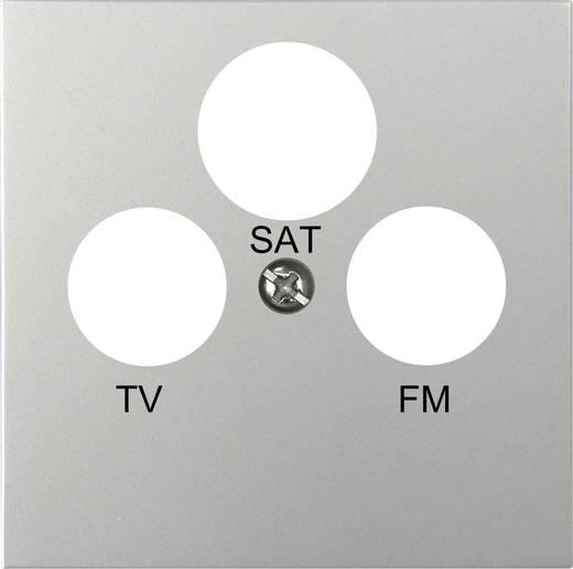 Fali antennacsatlakozó fedlap, takarólemez, ezüst színű GAO EFP800TRS