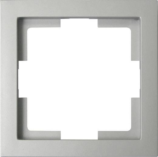 Kapcsoló keret, 1 részes, ezüst GAO EFT001 Slim Line