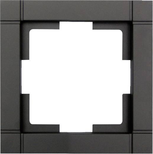 Kapcsoló keret, 1 részes, fekete GAO EFQ001 Fashion Line