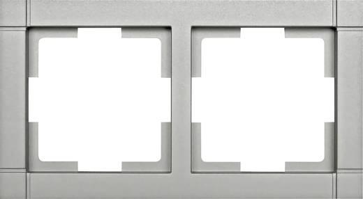 Kapcsoló keret, 2 részes kapcsolóhoz, ezüst GAO EFQ002 Fashion Line
