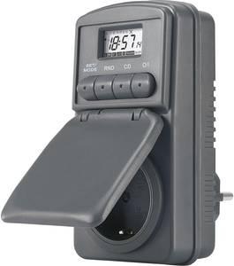 Digitális heti időkapcsoló óra konnektorba, 3680W, 20 program, IP44, DWZ 20 CE