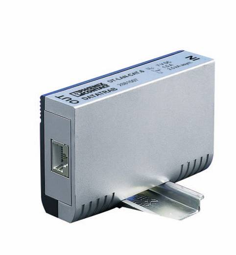 EA (CAT.6) osztályú túlfeszültség-védelem, LAN CAT6 RJ45 IP20, Phoenix Contact 2881007 DT-LAN-CAT.6+