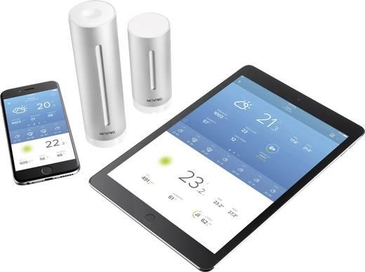 Meteorológiai állomás iPhone/iPad/iPod készülékekhez, Netatmo NWS01