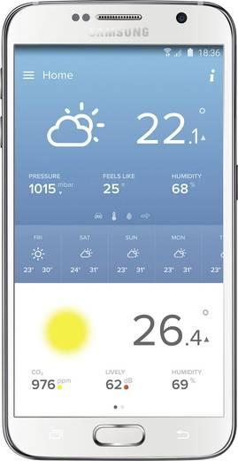 Internetes időjárásjelző állomás iPhone/iPad/iPod készülékekhez, Netatmo NWS01 + NE1002ZZ