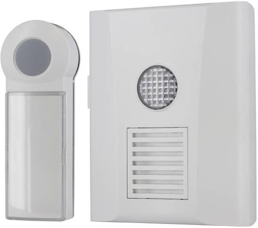 Vezeték nélküli csengő, jelzőfénnyel, falra szerelhető, max. 50 m, Home Easy HE821S