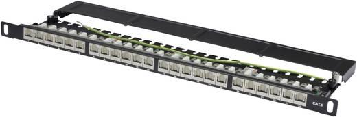 Hálózati patchpanel CAT 624 LAN port 0.5HE Digitus DN-91624S-SL-SH