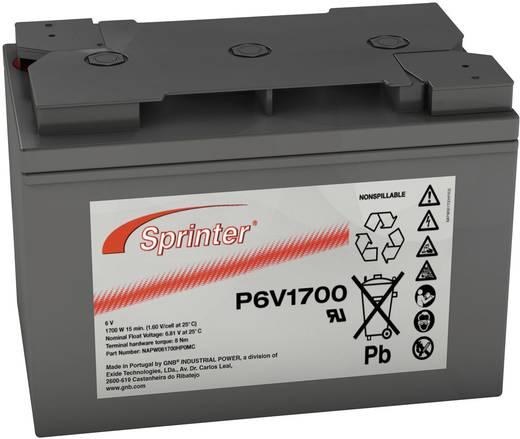 Ólomakku 6 V 122 Ah GNB Sprinter P6V1700 NAPW061700HP0MC Ólom-vlies (AGM) 273 x 191 x 167 mm Karbantartásmentes