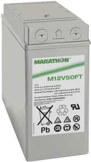 Ólomakku 12 V 47 Ah GNB Marathon M 12 V 50 FT NAMF120050HM0MA Ólom-vlies (AGM) 107 x 231 x 280 mm Karbantartásmentes