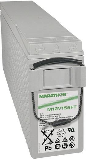Ólomakku 12 V 150 Ah GNB Marathon M 12 V 155 FT NAMF120155HM0FA Ólom-vlies (AGM) 124 x 283 x 559 mm Karbantartásmentes