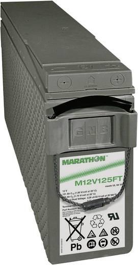 Ólomakku 12 V 121 Ah GNB Marathon M 12 V 125 FT UL94 NAMF120125VM0FA Ólomzselés (AGM) 124 x 283 x 559 mm