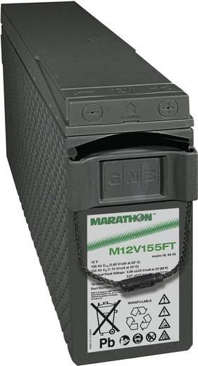 Ólomakku 12 V 150 Ah GNB Marathon M 12 V 155 FT UL94 NAMF120155VM0FA Ólomzselés (AGM) 124 x 283 x 559 mm
