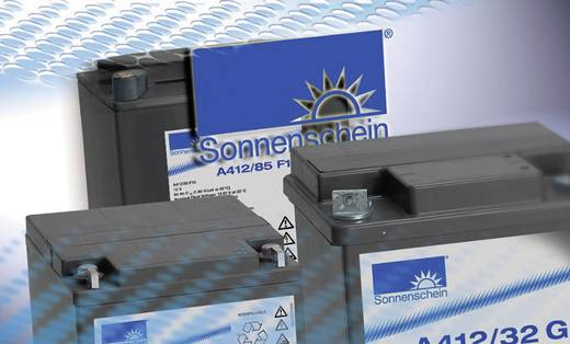 Ólomakku 12 V 165 Ah GNB Sonnenschein A412/170 FT NGA4120170HS0MA Ólom-zselés 128 x 320 x 568 mm Karbantartásmentes