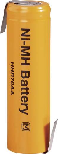 Panasonic NiMH ceruzaakku, ZLF, HHR-70AAB15-1Z 1.2 V 700 mAh (Ø x Ma) 15 mm x 50 mm