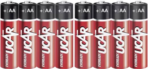 Ceruzaelem AA, alkáli mangán, 1,5V, 10 db, Ucar LR06, AA, LR6, AAB4E, AM3, 815, E91, LR6N