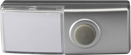 Vezeték nélküli csengő nyomógomb, adó, Heidemann 70390