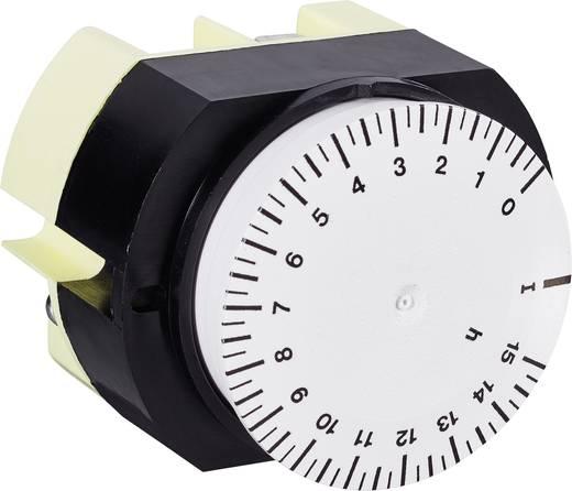 Suevia mechanikus timer időkapcsoló óra, 1 áramkör, 250V/16A, 346 K15 WS