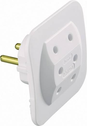 Lapos hálózati elosztó 3 részes fehér Kopp 1749.0200.5