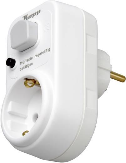 Közbenső dugó lekapcsolással, 16A, 230V/50Hz, 3680 W, Kopp OVS-3P PRCD