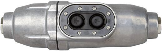 Biztonsági csatlakozó dugó szereléshez, alu, 230V/50Hz, 16A, 3680W, Kopp PRCD-S