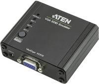 VGA közösítő adapter, 1x VGA aljzat - 1x VGA aljzat, fekete, ATEN ATEN