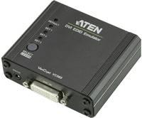 DVI közösítő adapter, 1x DVI aljzat 24+5 pól. - 1x DVI aljzat 24+5 pól., fekete, ATEN ATEN