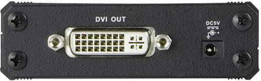 DVI közösítő adapter, 1x DVI aljzat 24+5 pól. - 1x DVI aljzat 24+5 pól., fekete, ATEN