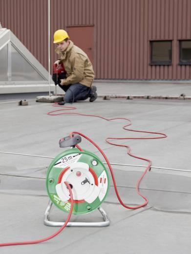 Kábeldob 50 m, IP44, zöld/piros, H05RR-F 3 G 1,5 mm², 230V, Brennenstuhl 1184830