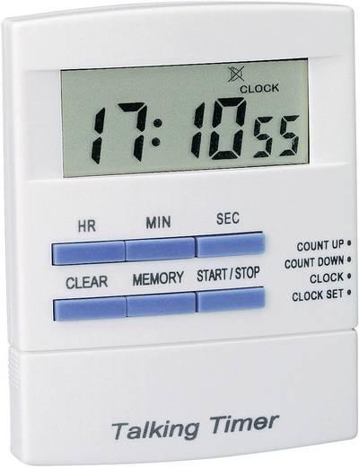 Beszélő (német) digitális visszaszámláló óra, időzítő, 83x64x15 mm