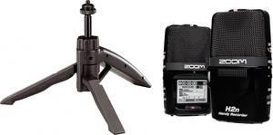 Hordozható audio felvevő Zoom H2n Bundle Fekete Zoom
