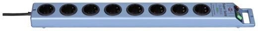 Hálózati elosztó túlfeszültség védelemmel, 8 részes, kék, 2,5 m, 4,5 kA, Brennenstuhl 1153340338
