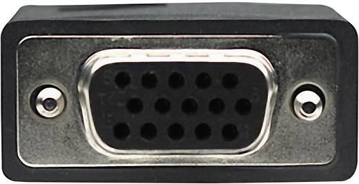 VGA kábel [1x VGA dugó 1x VGA alj ] 1.8 m fekete Manhattan 308595