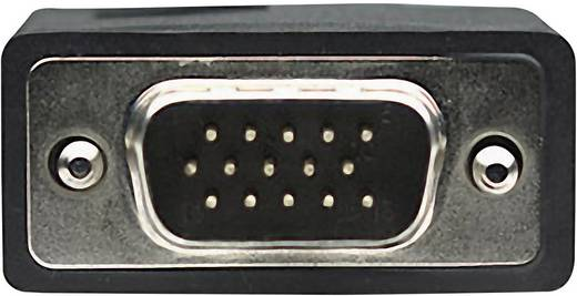 VGA kábel [1x VGA dugó 1x VGA dugó] 1.8 m fekete Manhattan 311731