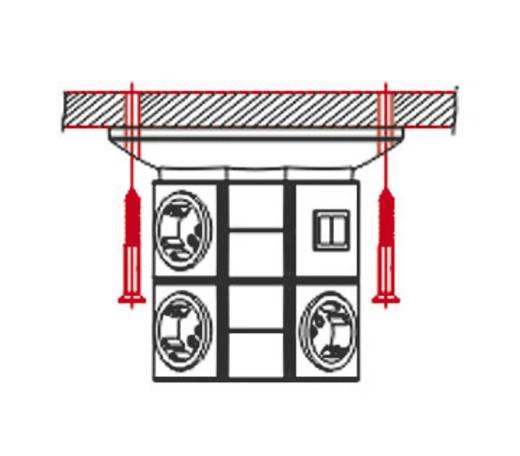 VARIO TOWER alapmodul kapcsoló nélkül szürke/antracit, Ehmann 0531x0010