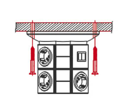 VARIO TOWER alapmodul kapcsolóval szürke/antracit, Ehmann 0530x0010