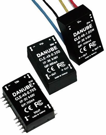 LED meghajtó 56 V/DC 350 mA Danube CLE-48-0.35D